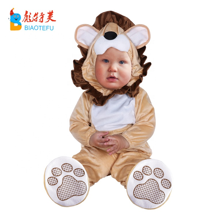new born baby infant animal lion cosplay costumes