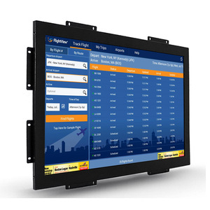 19 inch Embedded Open Frame Touch Monitor Projected Capacitive Touch screen