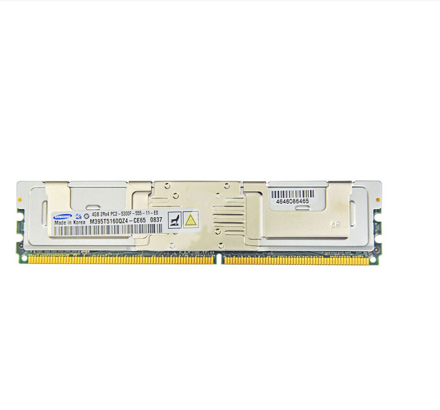 Best Selling 4GB DDR2 Memory DR397 For Dell Poweredge 1900 1950 1955 2900 2950 R900 T5400 2RX4 PC2-5300F 667Mhz ECC SDRAM