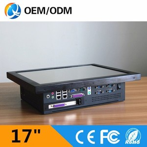 2015 New Product Intel Processor 17Inch Industrial Panel Computer