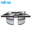 /product-detail/double-side-round-shape-supermarket-cashier-counter-with-conveyor-belt-60819086240.html