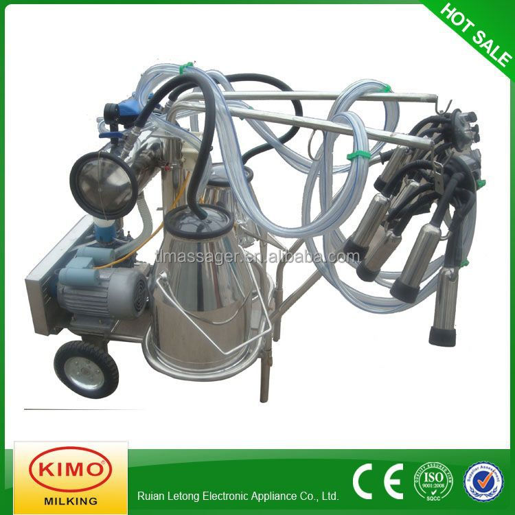Cheap Price Electric Single Cow Portable Milking Machine