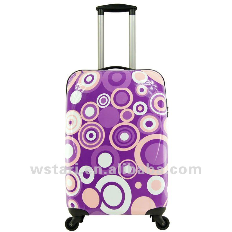 Lightweight ABS Trolley Case with Circle pattern