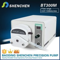 Liquid transport small brand pump,peristaltic pump flow control,intelligence coating pump for used water
