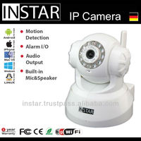 INSTAR IN-3011 Wireless Surveillance Camera with CMOS Sensor and Nightvision