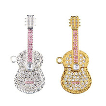 OEM Violin Jewelry USB Flash Drive 2GB