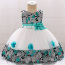 Worldwide free shipping wear High Quality Kids 0-2 Years Baby Party clothes Cute Baby <strong>Girls</strong> One Piece <strong>Dress</strong> L5045XZ