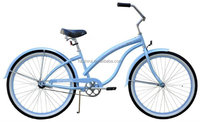 26'' Lady Beach Cruiser Bike XR-B2615 BabyBlue bicycle chopper cruiser bicycle