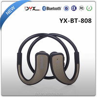 High quality sports stereo bluetooth headphone bt-808 wireless bluetooth headset