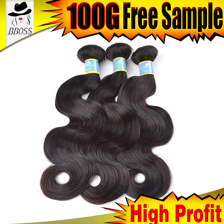 BBOSS naural wet and wavy hair,soft silky hair bundles free sample,cheap price braid in weave braid in human hair bundles