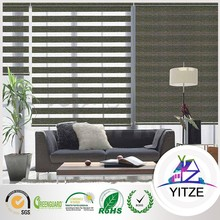 hotel modern fashion blackout hall divider curtain blinds simple american style cotton curtain