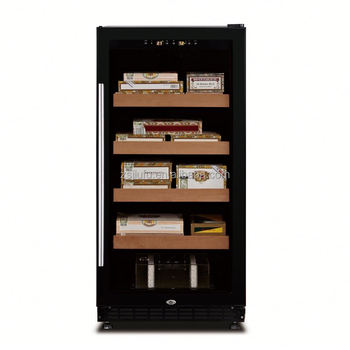 238L,load 800pcs dominican cigar with drawer aluminum frame humidor