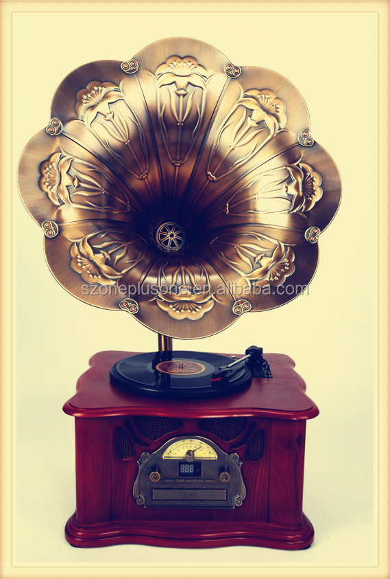 High quality sound design gramophone Records Player
