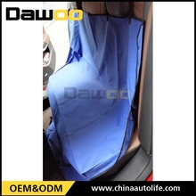 fashion red bamboo pvc car seat cover