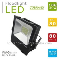 high quality led outdoor flood light 80w waterproof