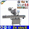 Trade assurance Full automatic flat label machinery,plane sticker labeling machine