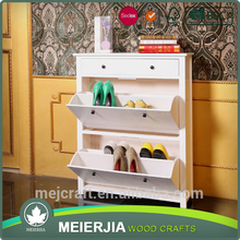 Essential Home Furniture Closed Wooden Shoe Rack / Shoe Cabinet