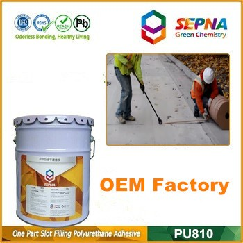 Under private laber Self-leveling Concrete crack & joint sealing glue without asphalt