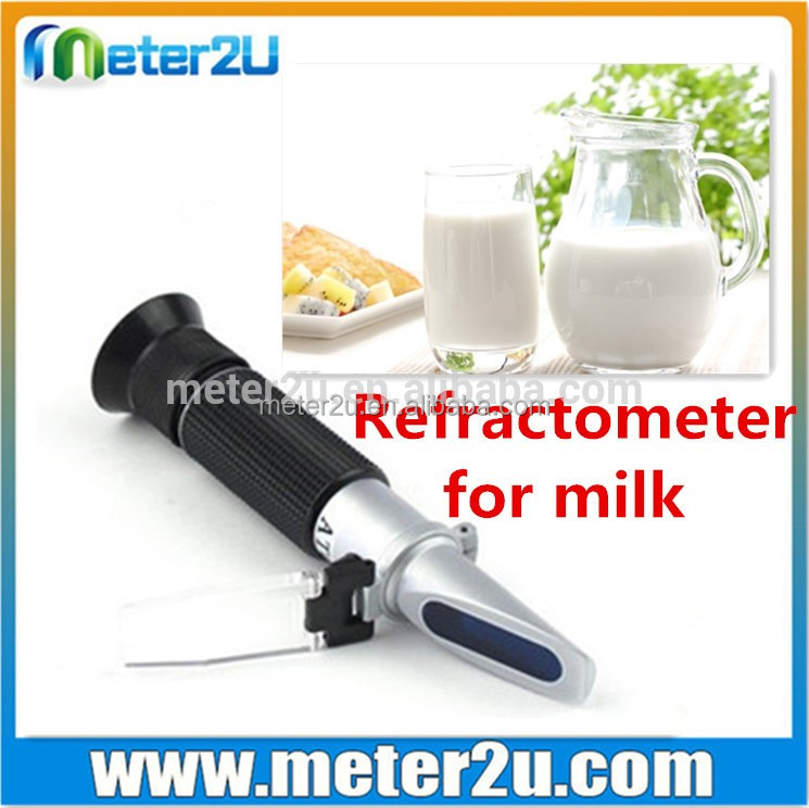 Milk Testing Equipment 0-20% Milk Refractometer Portable RHM-20ATC