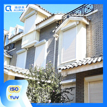 French Outdoor Vertical Motorized Aluminum Plantation Shutter