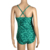 Sexy Women Grass Print Jumpsuit One- Piece Swimwear Supplies