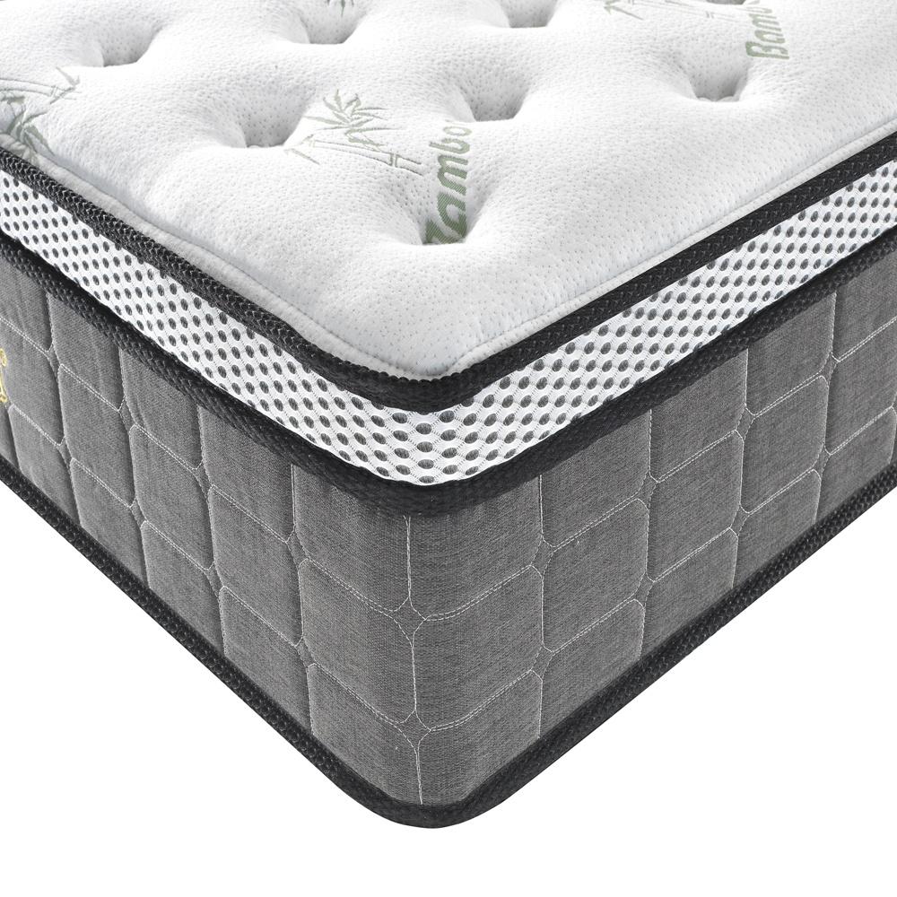 5 Star Hotel Hybrid Mattress with Cool gel Memory Foam Pillow Top, Pocket Spring Bedroom furniture Bed Mattresses - Jozy Mattress | Jozy.net