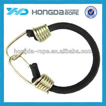 PP luggage rope with plastic coated hooks