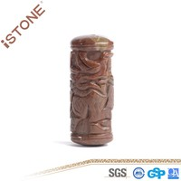 New 15*40 MM Figurine Seven Color Gem Column Crafts for Decoration & Gift