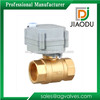 forged brass 2 way motorized ball valve 1 or 1/2 or 3 inch