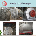 Continuous high effiency zero emission used Plastic pyrolysis plant with CE ISO