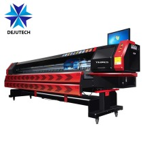 3.2m Larger format digital outdoor solvent printer 512 konica head