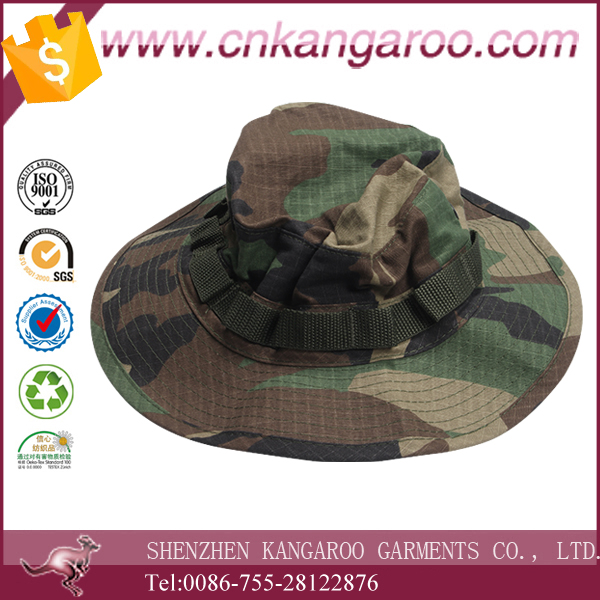 Jungle camouflage pattern military camouflage bucket hat