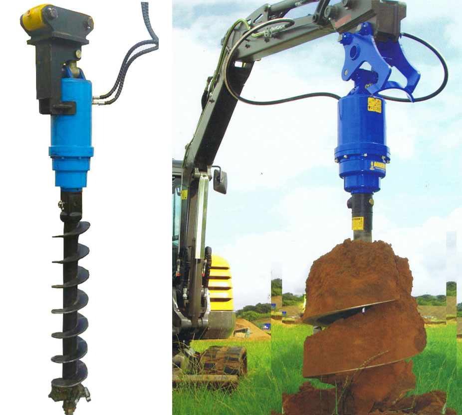 Brand new earth auger torque for excavator sale