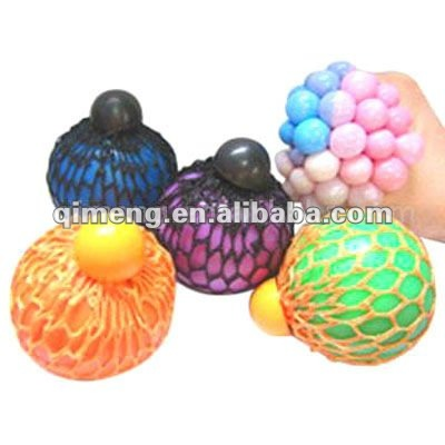 promotional grape squeeze stress balls mesh