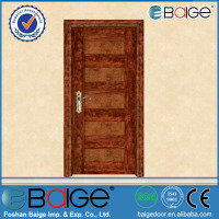 BG-SW301-5 teak wood doors / safety wooden door design / wood door pictures