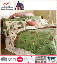 Wholesale printed cotton baby duvet cover