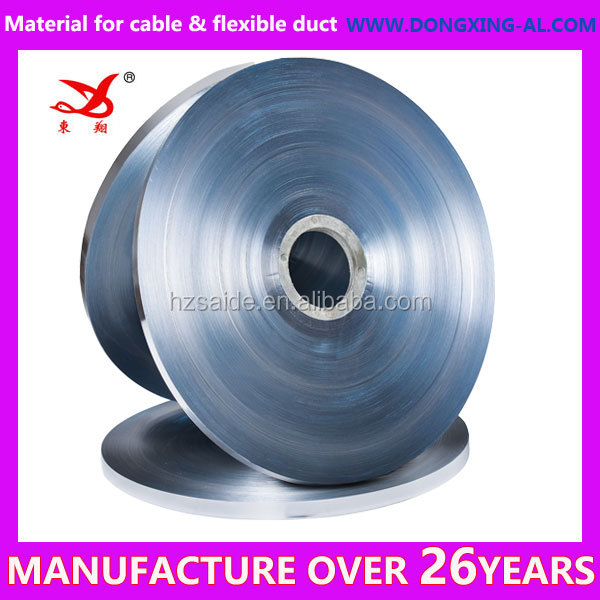 flexible duct aluminum foil mylar for air conditioning and ventilation