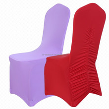 Banquet party universal lycra pleated chair covers