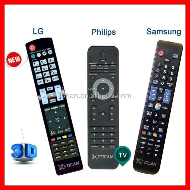 LCD/LED/HD/3D TV Remote Control AA59-00652A for TV TCL Samsung LG Toshiba Philips Panasonic Hitachi SANYO etc.