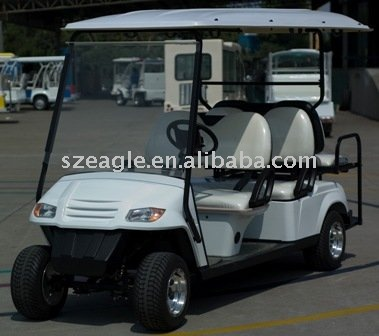 6 seats electric utility car ,electric golf cart,EG2049KSZ,48V/4KW Sepex,6-person