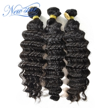 Quality Guarantee Sample Order Available New Star 100% tangle free indian virgin hair deep wave hair