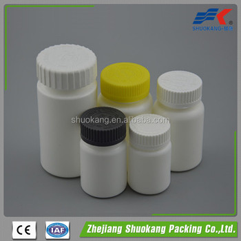 120cc High Quality Pharmaceutical HDPE Plastic Bottle