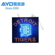 Detroit Red Tigers LED Open Board , Program LED Display