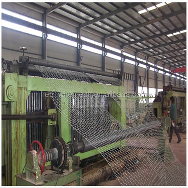 Hot Sale ! Gabion Mesh Weaving Machine Factory