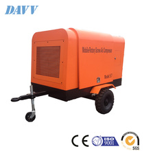 30hp compressor diesel driven screw rotary portable diesel engine air compressor