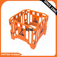 Portable PE Plastic Road Safety Barrier Fence