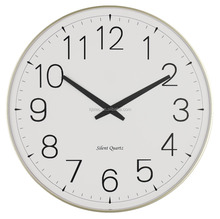 plastic home decoration quartz giant decor art taiwan wall clock