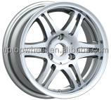 OEM design replica car wheel for 15x4.5 15x6.0 3hole x112 silver 6 spoke car wheels RIMS new treatment rines llantas