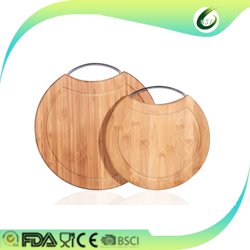 round cutting board chopping board wood