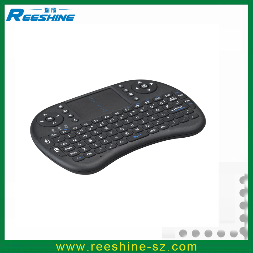 Low price mini bluetooth keyboard qwerty and touch pad i8 wireless keyboard